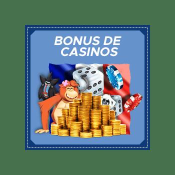 casinos en ligne francophone bonus
